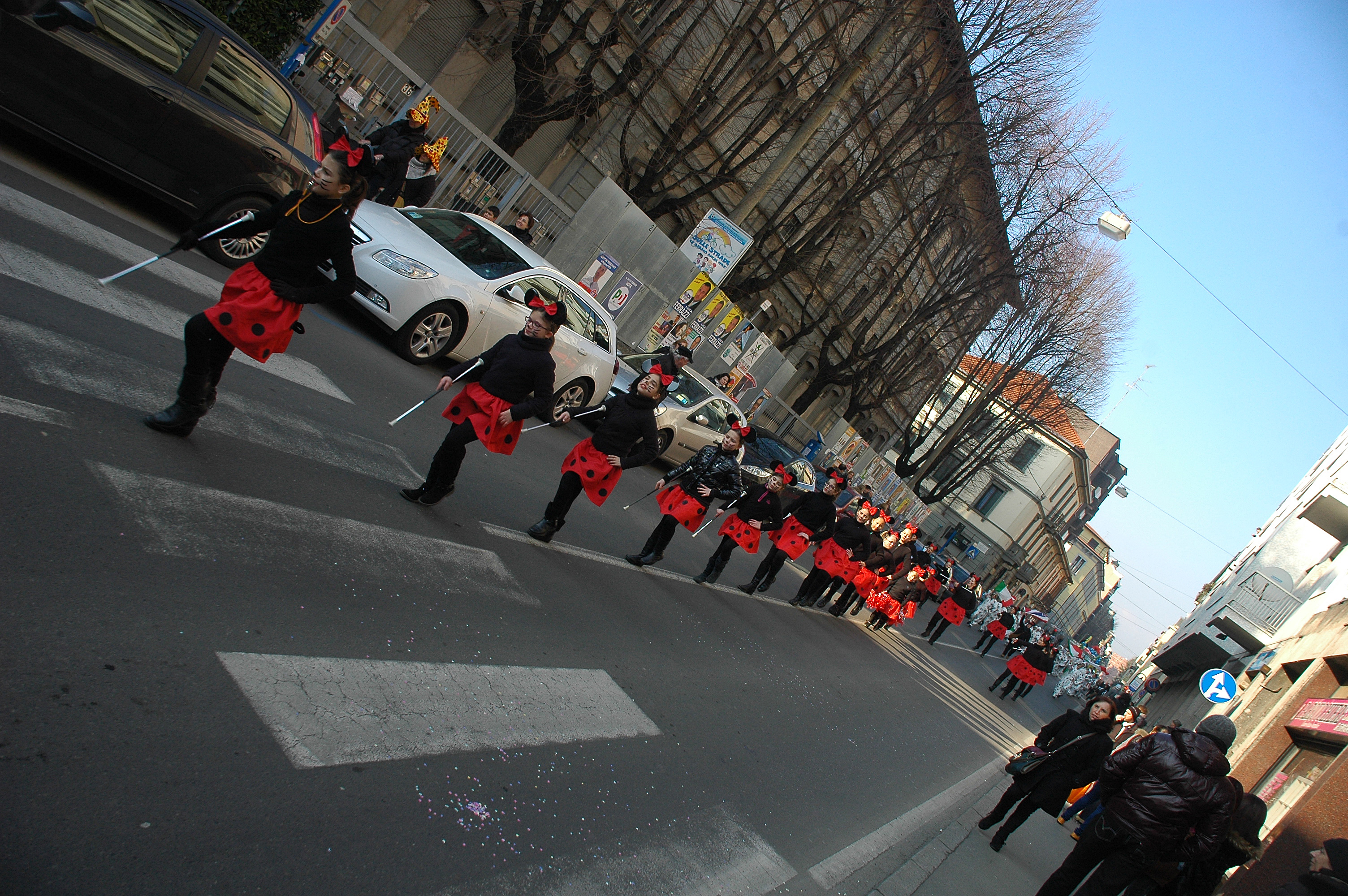 Carnevale a Saronno, Febbraio
