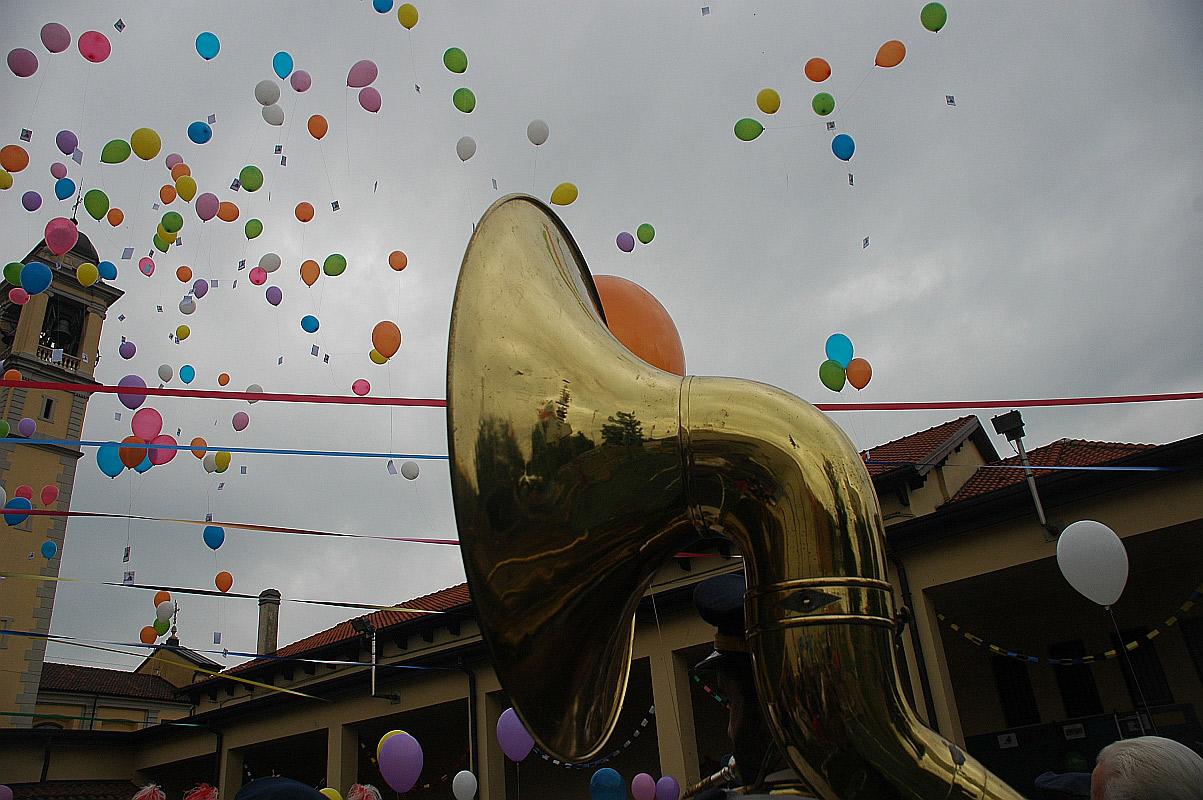 Festa degli oratori - Lancio dei palloncini